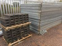 Used Site Harres Fence Panels