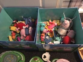 Peppa pig figures and toys