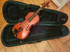STRINGERS of EDINBURGH 3/4 VIOLIN with BOW and CASE
