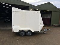 Tow A Van Box Trailer (perfect motorbike trailer)