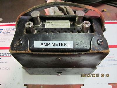 Vintage Weston 582 Portable Ammeter Bakelite
