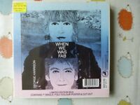 George Harrison When We Was Fab Ltd Edn Sealed box