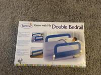 Children's bed rail guard