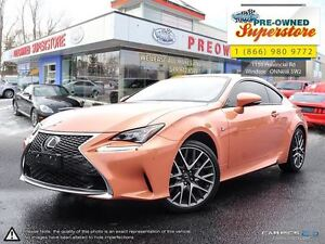 2015 Lexus RC 350 ***AWD, F-Sport, Sunroof***