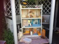 UPDATED WILL NOW DELIVER Original Boxed Sindy House in great condition with many extras