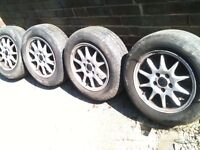 "VOLVO V70 15"" ALLOYS 5 X 108 S60 / S70 / S80 / 850 etc FORD CONNECT / FOCUS etc BARGAIN £70"