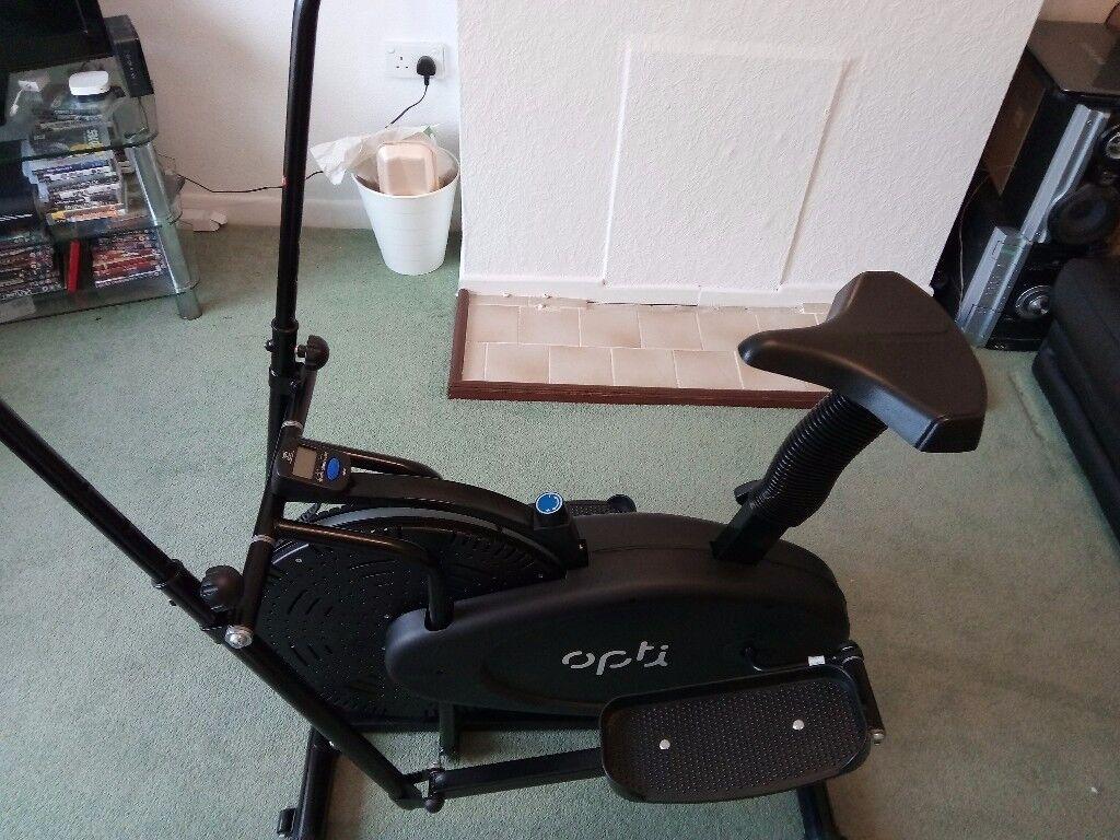 Opti Cross Trainer/Exercise Bike