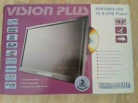Vision Plus 18.5 portable Tv/Dvd player