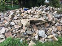 Builders stone - 1 tonne bags
