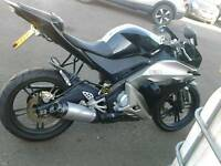 !! YAMAHA 125 EXCELLENT CONDITION + LOW MILAGE AND 1 YEARS MOT !!