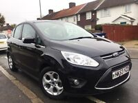 2014 FORD C-MAX 1.6 ZETEC TDCI,9000 MILES ONLY,£30 TAX,NEW MOT,CHEAPEST IN THE COUNTRY.
