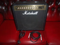 marshall mg50fx 50watt amp as new has built in mp3 input all perfect relisted due to time waisters