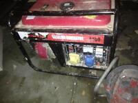 6500w generator 110/240v