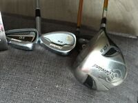 Golf Clubs For Quick Sale due to giving up game, Clevland CG 16 plus driver 3 wood and putter