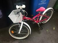 BTWIN girls bike great condition