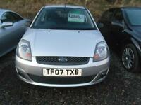 FORD FIESTA 1.4 Zetec 3dr [Climate] IDEAL 1ST CAR. LOW MILEAGE FULL YEARS MOT AT SALE (silver) 2007