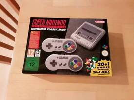 SNES: Nintendo Classic Mini. Like New Condition