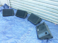 Floor monitors / wedges x four. REDUCED PRICE