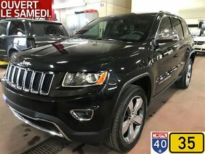 2016 Jeep Grand Cherokee LIMITED,TOIT OUVRANT,NAVIGATION,BAS KM