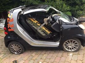 2012 Smart For two car breaking. ****Parts Available***