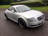 """Audi TT 1.8 225bhp Quattro, 19"""" DEEP DISH ALLOYS, Carbon Air Box, Cambelt changed, Runs/Drives GREAT"""