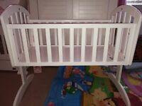Obaby rocking crib £25 ono