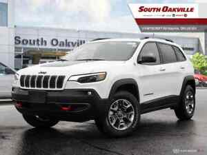 2019 Jeep New Cherokee Trailhawk|DUAL SUNROOF|HTD LTHR|NAV|RR CA