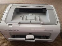USED HP LaserJet P1102 printer + 2 new cartriges
