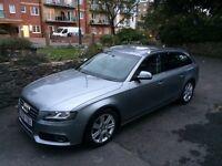 Audi a4 b8 2.0 tdi CR 2009 estate *sat nav* P/x automatic