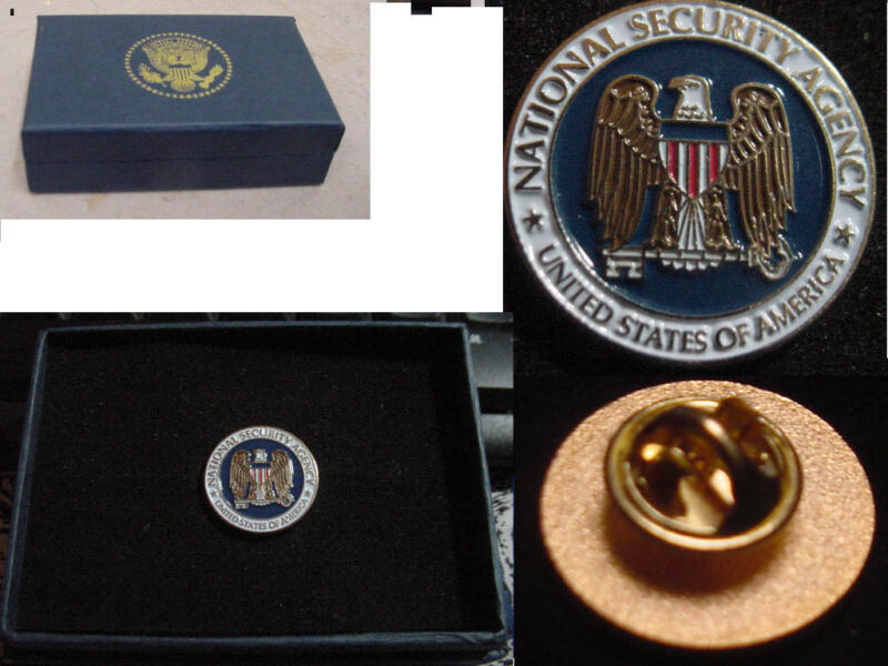 Presidential new national security agency  NSA Lapel Pin