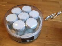 Yogurt maker- 7 pots, brand new