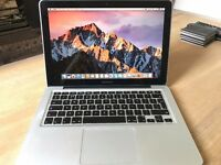 Apple MacBook Pro 13 inch Mid 2012 model, 2.5GHz i5, 4GB RAM, 500GB HD in great condition