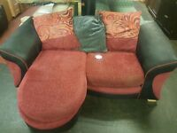 Lovely 2 seater corner sofa for sale