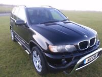 BMW X5 SPORT AUTOMATIC -2003 - 12 MONTHS MOT- Black Leather - Electric Pack