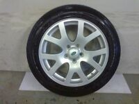 ALLOYS X 4 OF 19 INCH GENUINE DISCOVERY/RANGEROVER FULLY POWDERCOATED INA STUNNING DUTCH SILVER NICE