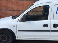 Vauxhall Combo Mk2 1.7 CDTi 2009 White Passenger Door