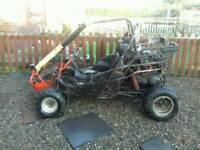 250cc hammerhead buggy