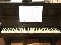 FREE Upright piano, collect Summertown