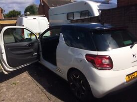 Citroen DS3 DSPORT PLUS E-hdi airdream NEW MOT, low mileage, free road tax