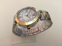 NEW ladies Cartier Pasha two tone watch