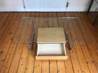 Glass coffee table Ikea Hemberg