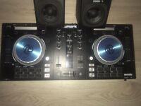 Numark Mix Pro3 and speakers