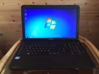 "Toshiba Satellite Pro c580 - Intel core i5 - 500Gb Storage - Windows 7 - 15.6"" Hd Screen Laptop"