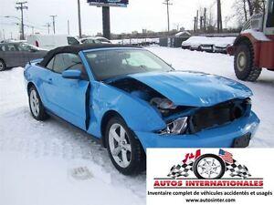 2011 Ford Mustang GT 5.0L CABRIOLET MAG CUIR GR ELECT SIEGE CHAU