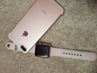 Iphone 7 plus and watch apple