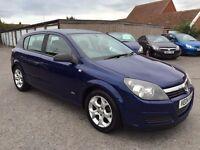Vauxhall Astra 1.6 i 16v SXi 5dr 2004 blue tidy car 12 months mot