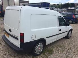 Cheap van Vauxhall combo 2006, 1.7 diesel, long mot 2018, roof rack,