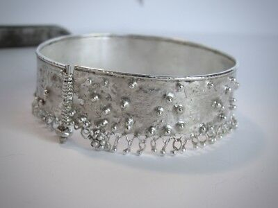 Starling silver bracelet.Unique and stunning handmade bracelet.Free shipping.