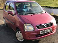 2001 Vauxhall agila 1.2