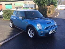 2002 Mini Cooper S, Full Leather interior